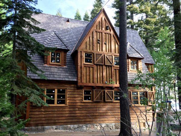 Lake Tahoe House Joe Pace custom home in tahoe